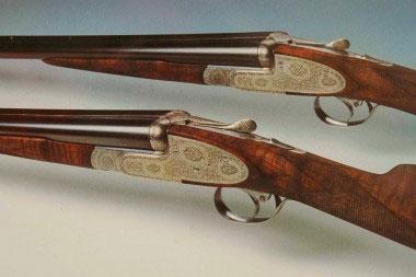 Комплект парных гладкоствольных ружей Fuchs