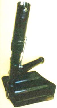 лопата-гранатомет «Вариант» в боевом положении