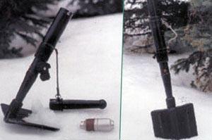 лопата-гранатомет «Вариант» в варианте гранатомета и лопаты