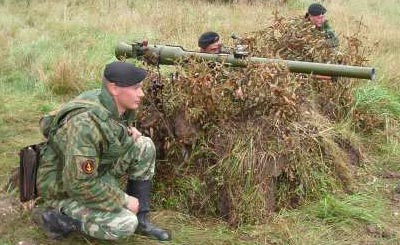 СПГ-9 при стрельбе