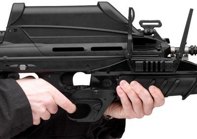 FN GL1 в боевом положении
