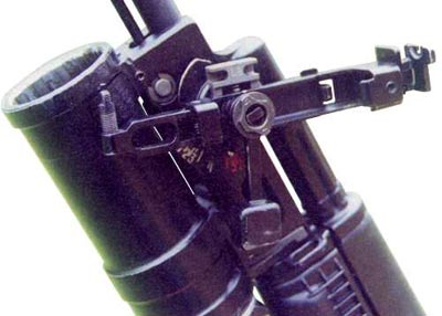 ГП-25 с использованием отвеса при навесной стрельбе