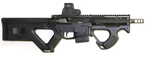 AR-15, выполненный на основе ложевой системы CQR HERA AR15