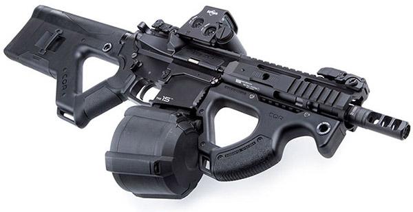 С таким барабанным магазинным карабином оружие становится не просто крутым, а мегакрутым
