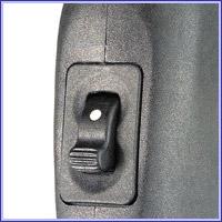 Предохранитель: расположен на шейке приклада. Выполнен в виде тумблера.