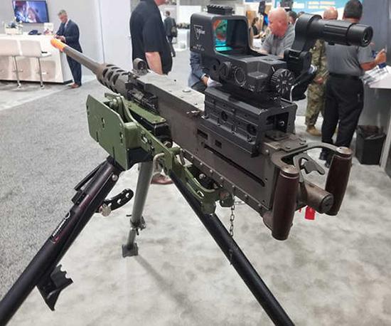 Коллиматорный прицел для пулемета M2 Browning от компании Trijicon