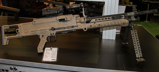Barrett M240LW Machine Gun
