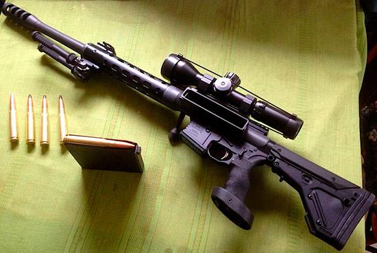 Компания Safety Harbor разработала крупнокалиберную версию винтовки AR-15