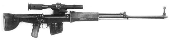 Опытная снайперская винтовка Константинова, принимавшая участие в конкурсе