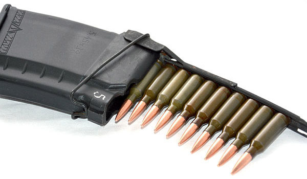 Из обойм можно заряжать не только оружие, но и магазины