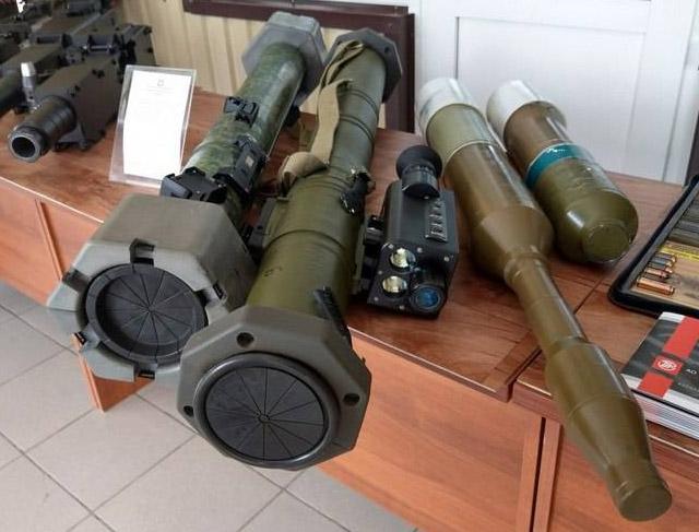гранатометно-огнеметный комплекс «Смесь»