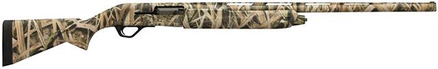 Полуавтомат SX4 Waterfowl Hunter Compact с укорочённым прикладом в 13 дюймов из композитного материала с камуфляжем Mossy Oak Shadow Grass Blades
