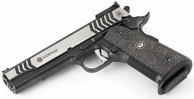 Спортивный пистолет Ruger Custom Shop SR1911 калибра .45 Auto