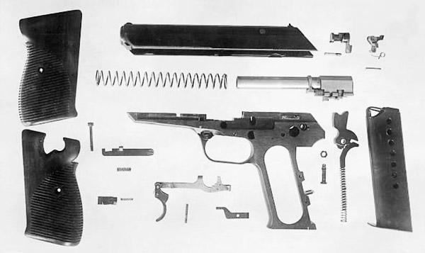 Полная разборка чехословацкого пистолета, который первым проходил испытания