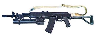 5,56-мм штурмовой карабин Калашникова КbS wz.96 «BERYL» с подствольным гранатометом Kbk-g wz.1974 «PALLAD»