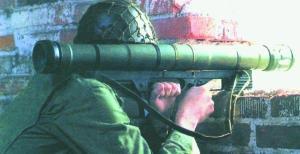 Стрельба из ручного противотанкового гранатомета «Армбруст» АТ