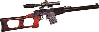 9-мм снайперская специальная винтовка ВСС с оптическим прицелом ПСО-1-1