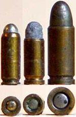 Слева направо: 2.7 mm Kolibri, 3 mm Kolibri. 4.25 mm Liliput