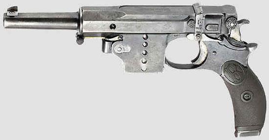 пистолет Bergmann M 1897 Nº5