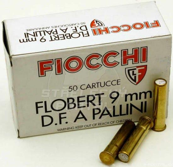 9 mm Flobert (дробовой вариант)