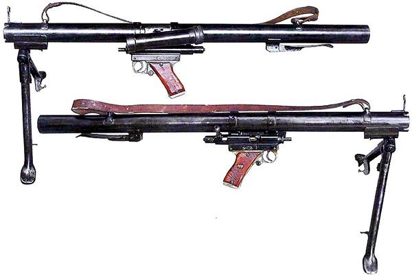 Ручной противотанковый гранатомет системы Мешичека РРБ М49 (РПГ обр. 1949 г.)