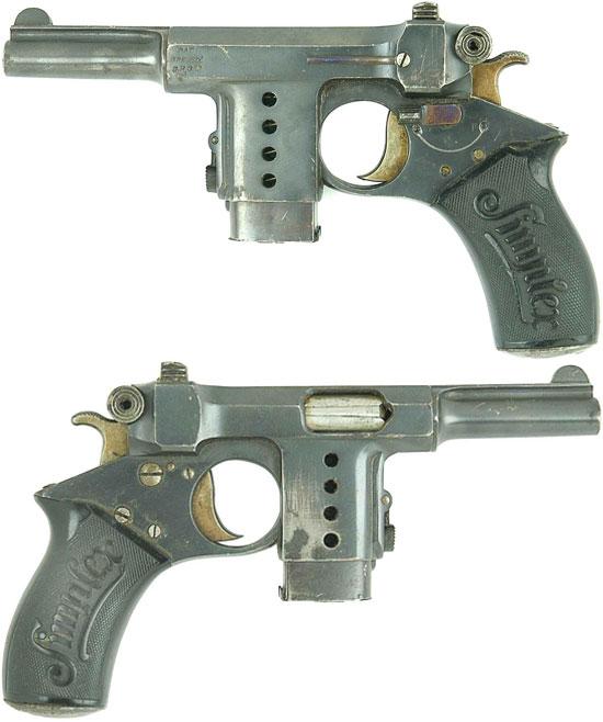 Bergmann Simplex с магазином емкостью 5 патронов