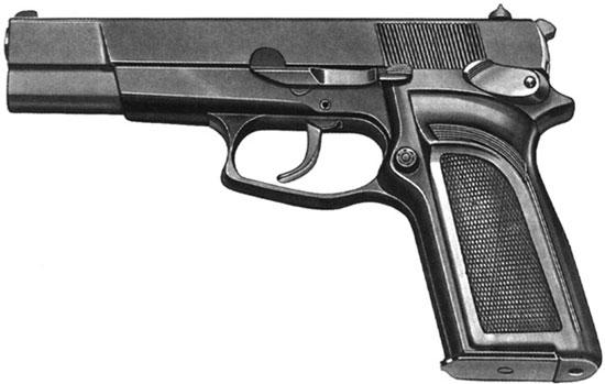FN HP-DA / Browning DA (ранняя модель)
