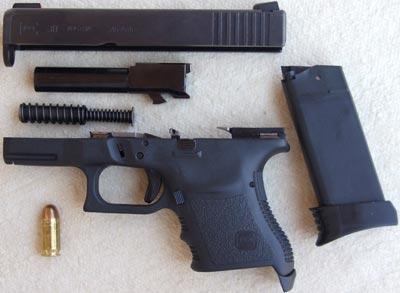 Glock 30 неполная разборка