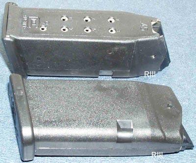 магазин емкостью 9 патронов для Glock 30