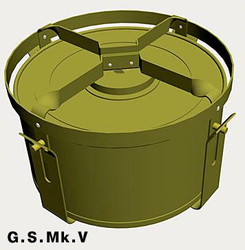Противотанковая мина Г.С. Модель V (G.S.Mk.V)
