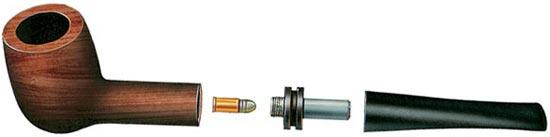 «Курительная трубка» — пистолет под 5,6-мм патрон .22 «shot»