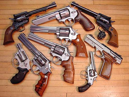 Револьвер для самозащиты