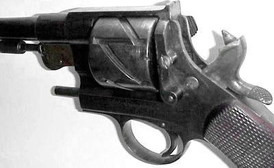 Mauser M 1878 No 1 Zig-Zag (вид на барабан с левой стороны оружия)