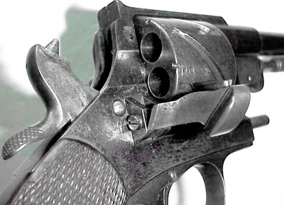 Mauser M 1878 No 1 Zig-Zag (вид на барабан с правой стороны оружия)