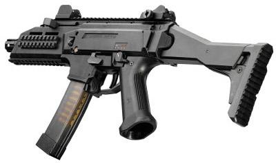 9-мм пистолет-пулемет CZ Scorpion EVO 3 A1 (вид слева)