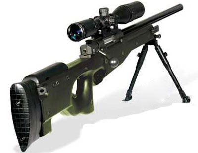 Accuracy International Arctic Warfare Police (AI AWP)