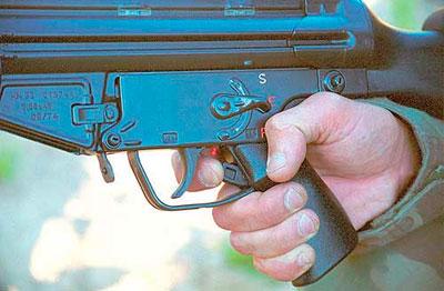 вид на элементы управления HK 33 SG1