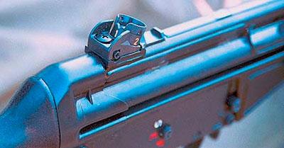 Штатный механический прицел HK 33 SG1