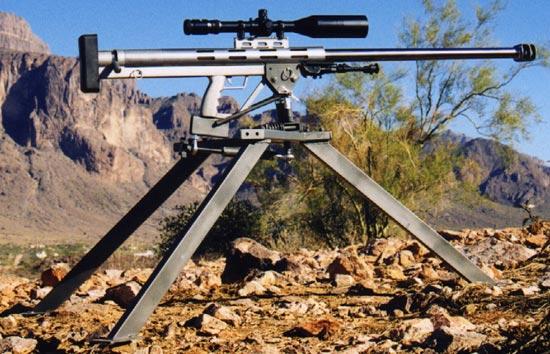 LAR Grizzly Big Boar .50 BMG на станке