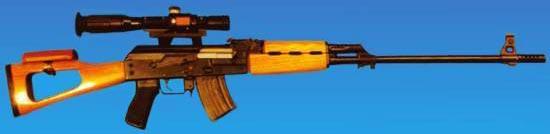 Снайперская винтовка Tabuk