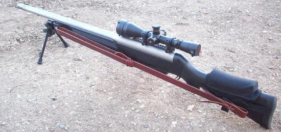 VR1 PSR под патрон .375 Chey Tac