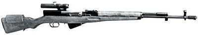 7,62-мм снайперская самозарядная винтовка Симонова СВС-14. Опытный образец