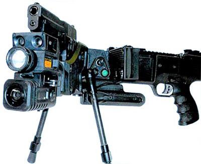 Установка Corner Shot с установленным пистолетом «Зиг-Зауэр»