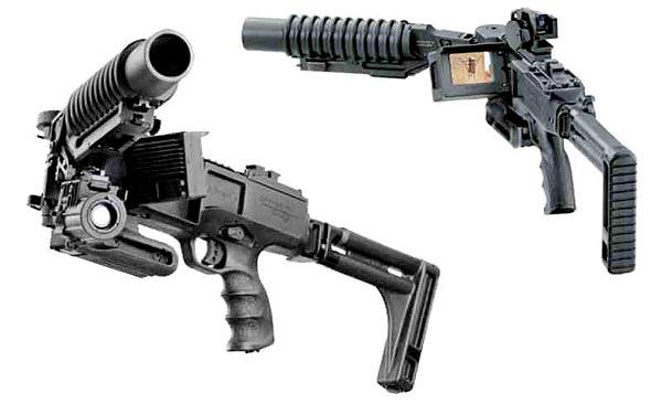 Установка Corner Shot с противопехотным гранатометом калибра 40 мм