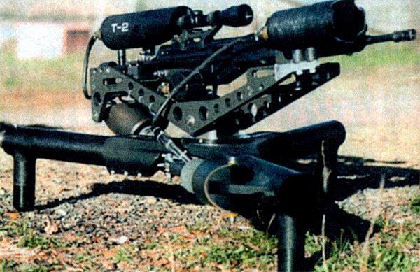 Дистанционно управляемая снайперская винтовка Trap T2