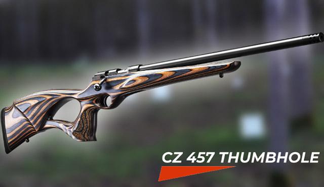 CZ 457 Thumbhole