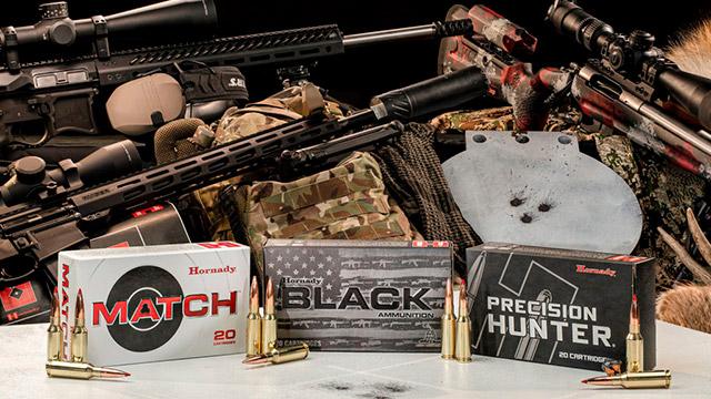 Патроны Hornady 6mm ARC выпущены для коммерческого рынка сразу в нескольких вариантах снаряжения