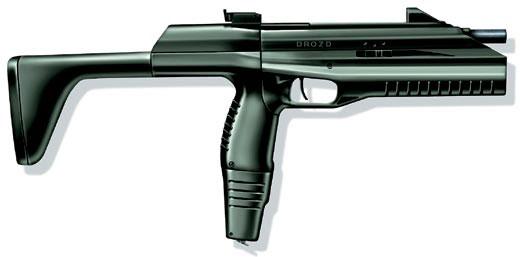 Автоматический газобаллонный пистолет МР-661К «Дрозд» (Россия)