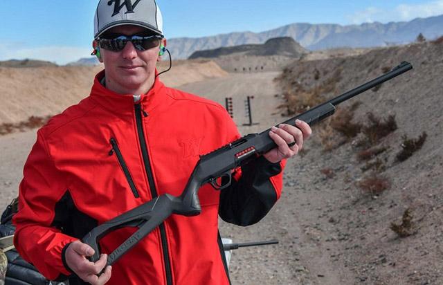 Winchester Repeating Arms Wildcat .22 Long Rifle - современная <a href='https://arsenal-info.ru/pub/art/2267' target='_self'>самозарядная винтовка</a> малого калибра