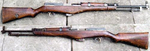 Опытный самозарядный карабин Калашникова 1944 года (М1944).